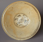 Sukhothai flower plate from the 'Longquan' wreck, diameter 25cm